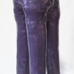 Purple Heffalump, 12in tall x 8in wide