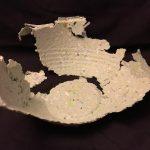 BROKEN ~ Handmade Paper Bowl 2017