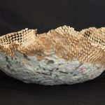 Handmade Paper Bowl 6in x 13in 2017